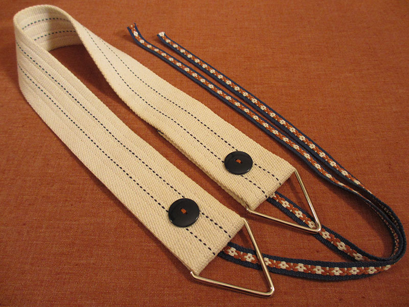 Weaving belt cotton webbing handwoven ties